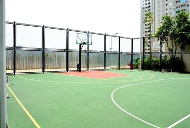 Quy trình thi công sân bóng rổ ngoài trời tiêu chuẩn, nhanh gọn, bền đẹp
