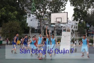 Danh sách sân bóng rổ tại Quận 7 - TP Hồ Chí Minh
