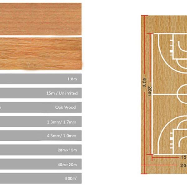 Thảm sân bóng rổ Y-65170